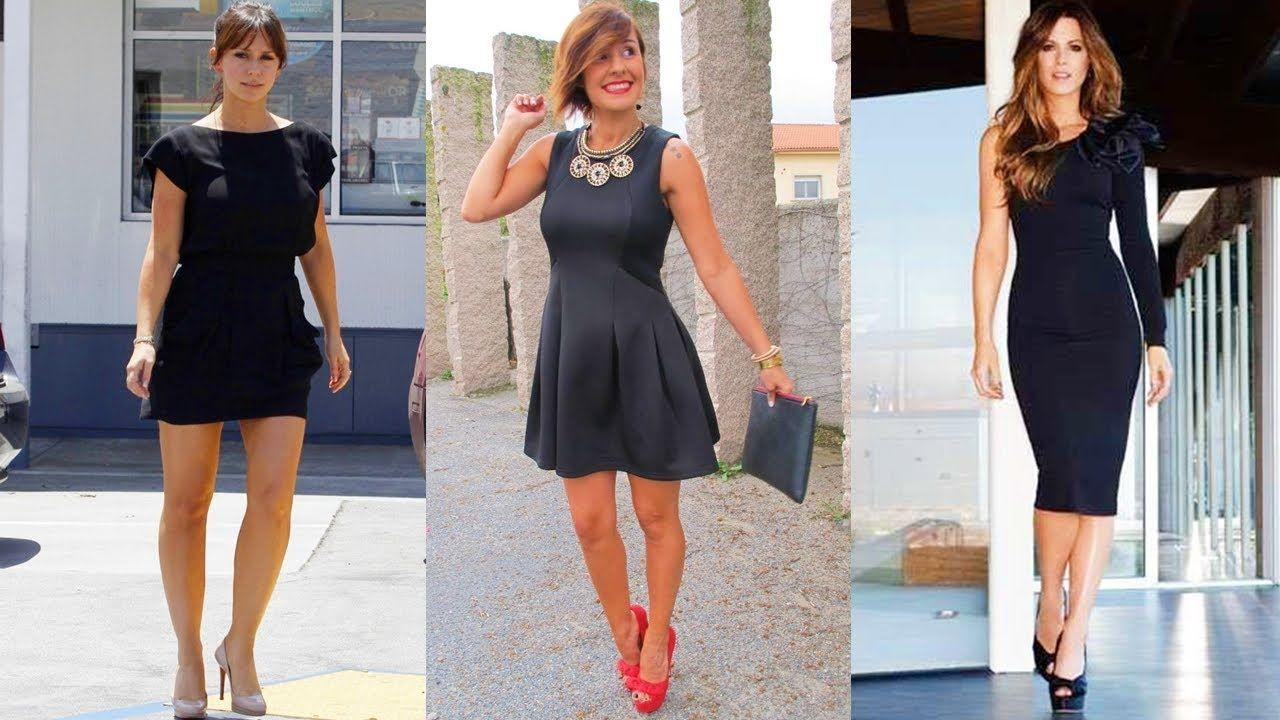 Vestido de moda en negro