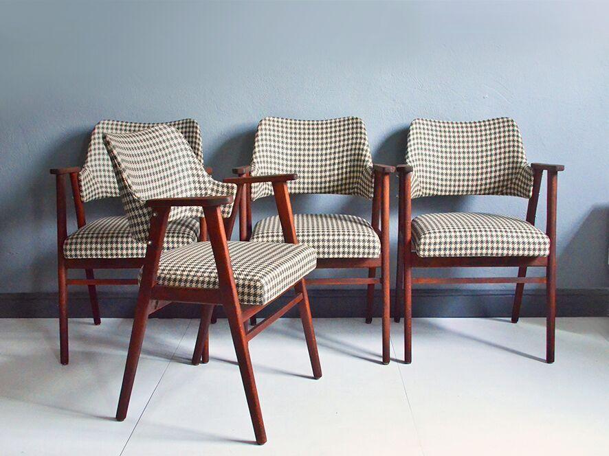 Oryginał krzesło Rajmund Hałas 5 szt design modern