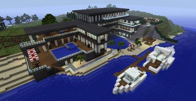 Minecraft Living Room Xbox 360 minecraft spa ideas | front view of garage outside | minecraft