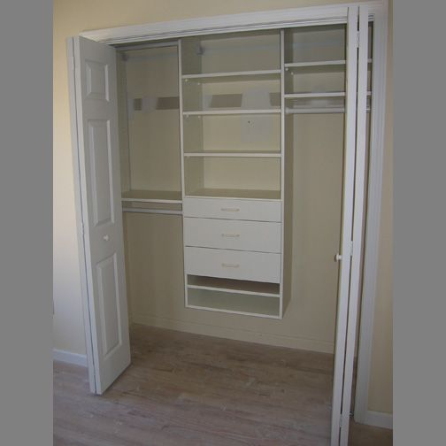 Reach In Closet Organizers | Reach In Closets