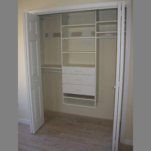 reach in closet organizers | Reach-In Closets | reach-in closets ...