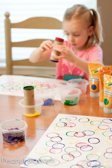 It's not too late to have an Olympics party! Click through for a craft idea, book list, and fun Closing Ceremonies suggestions for a family that might have been too busy to enjoy the opening ceremony!