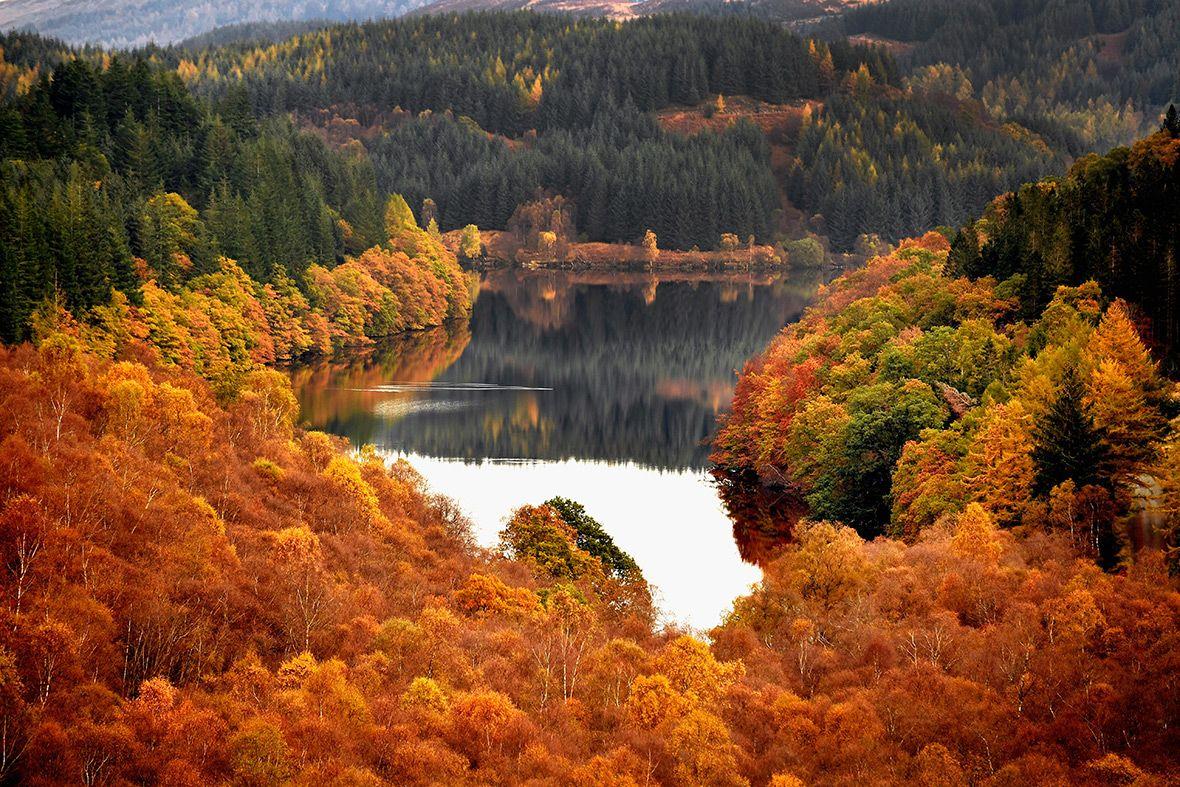 она красивые пейзажи осени фото картинки как обещал