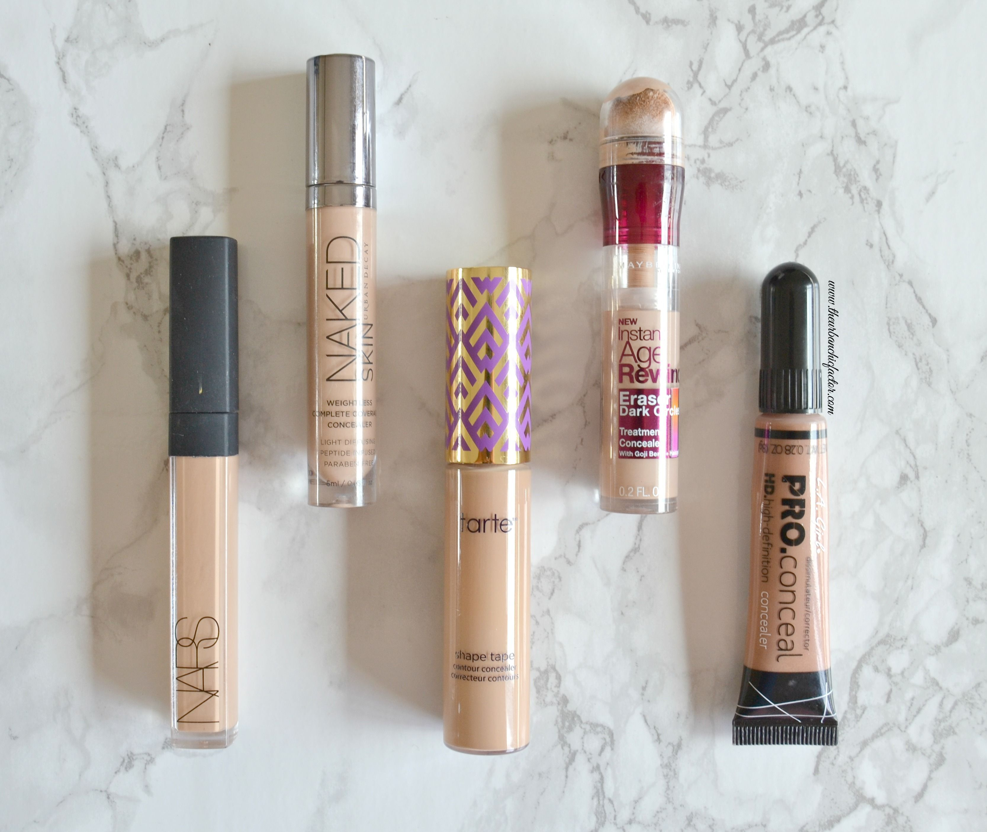 Top 5 Concealers to cover under eye dark circles with ...
