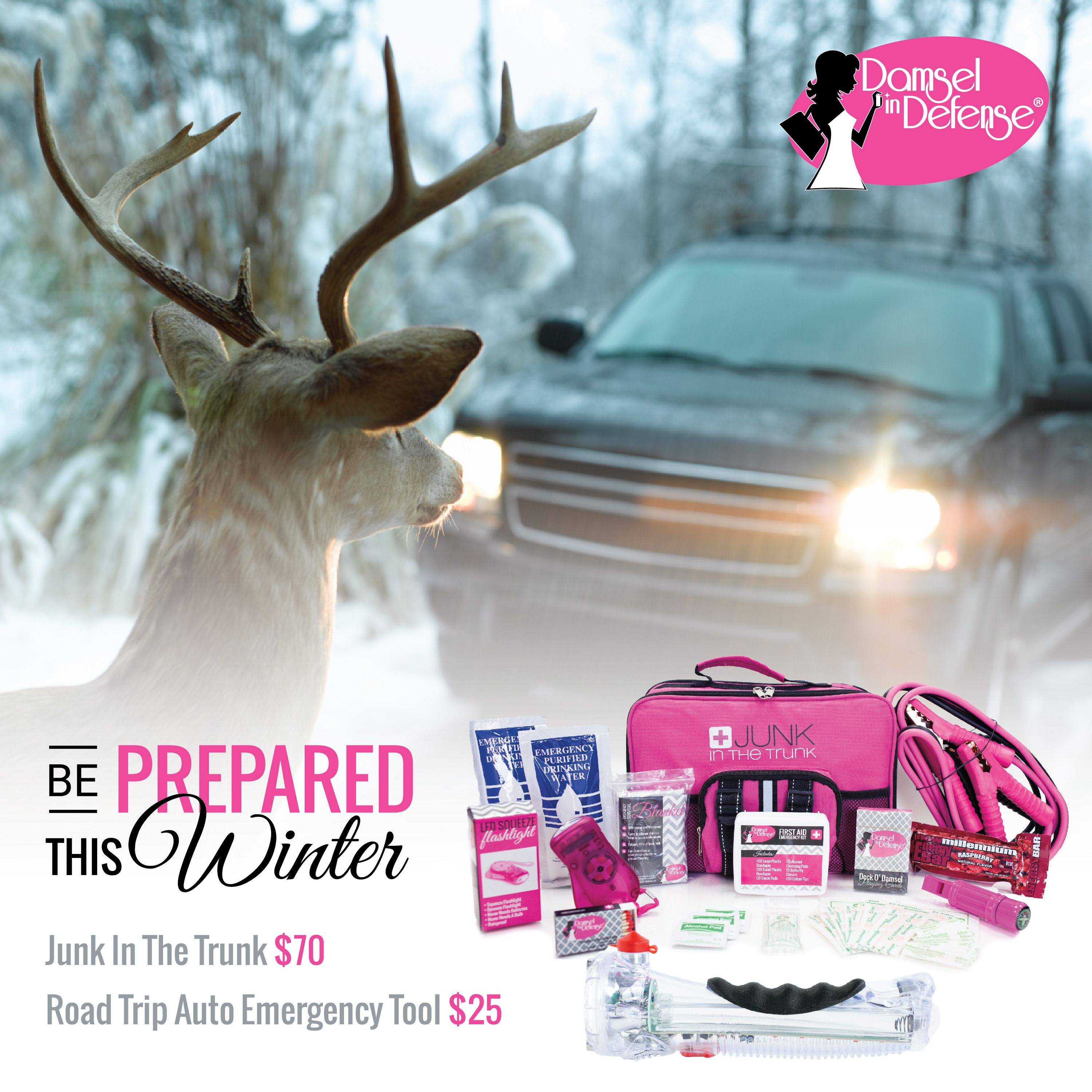 Be prepared this winter with Junk in the Trunk.