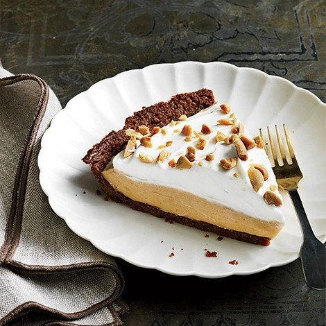 Sweet And Salty Peanut Butter Pie Shine Food Yahoo She