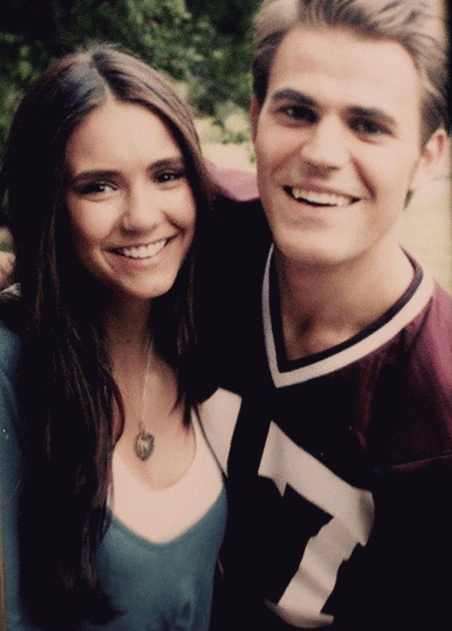 Stefan Salvatore And Elena Gilbert The Vampire Diaries