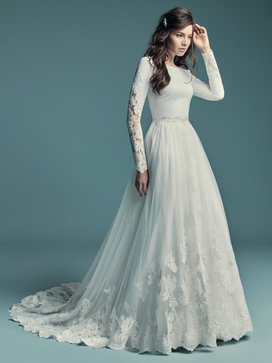 Olyssia By Maggie Sottero Wedding Dresses Wedding Dress Long Sleeve Wedding Dress Sleeves Wedding Dresses
