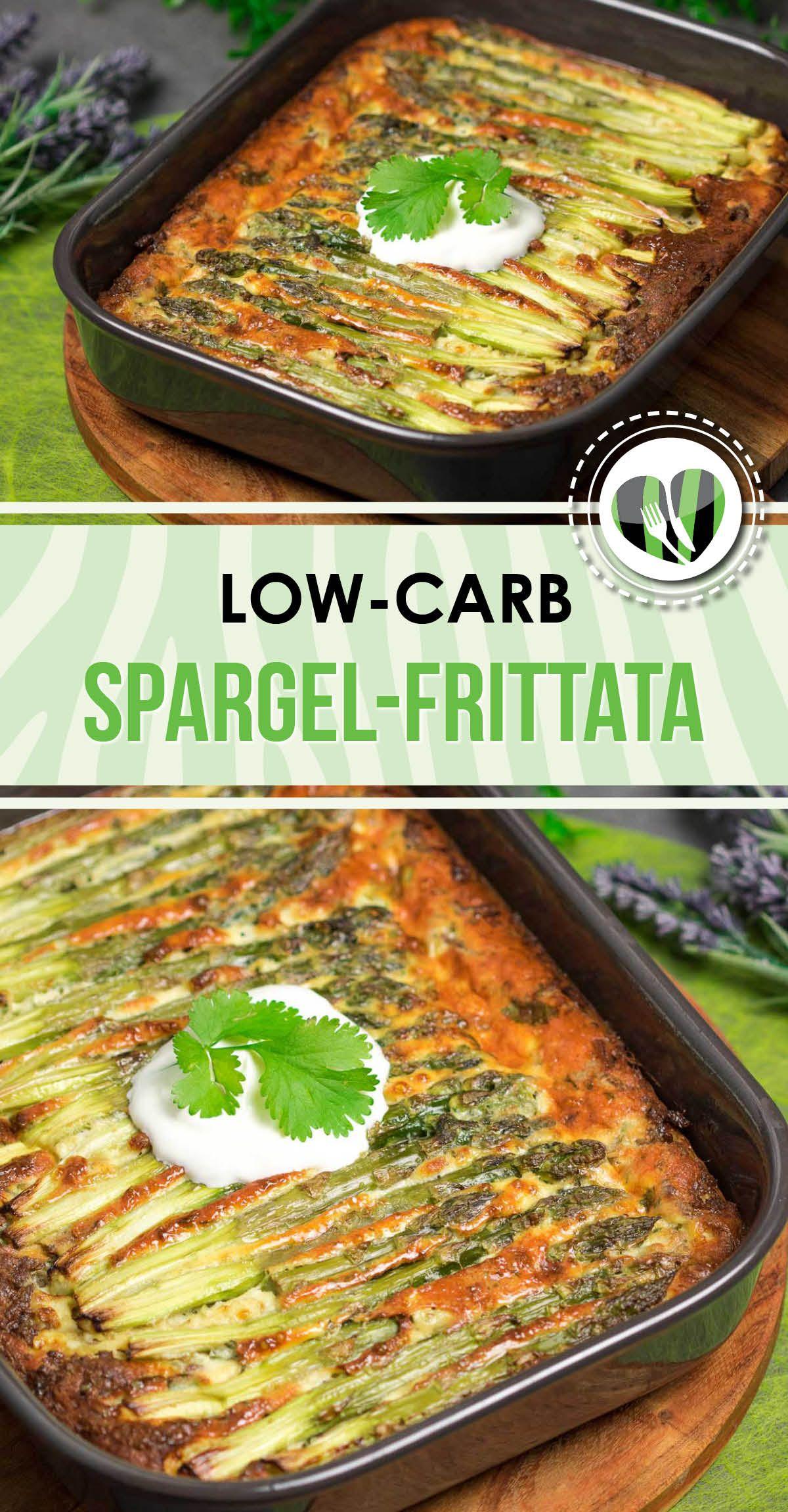Die Spargel-Frittata mit Hackfleisch ist lecker und Low Carb. Zudem ist das Rezept auch noch glutenfrei und einfach zu machen.
