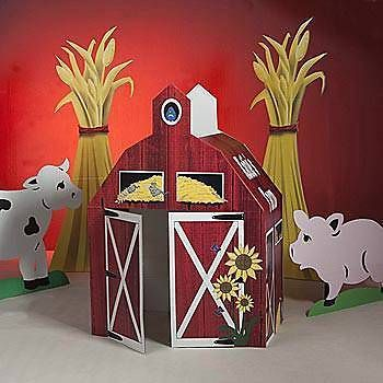 Lifesize Cardboard Cutout Standee Party Decoration Farm Tractor