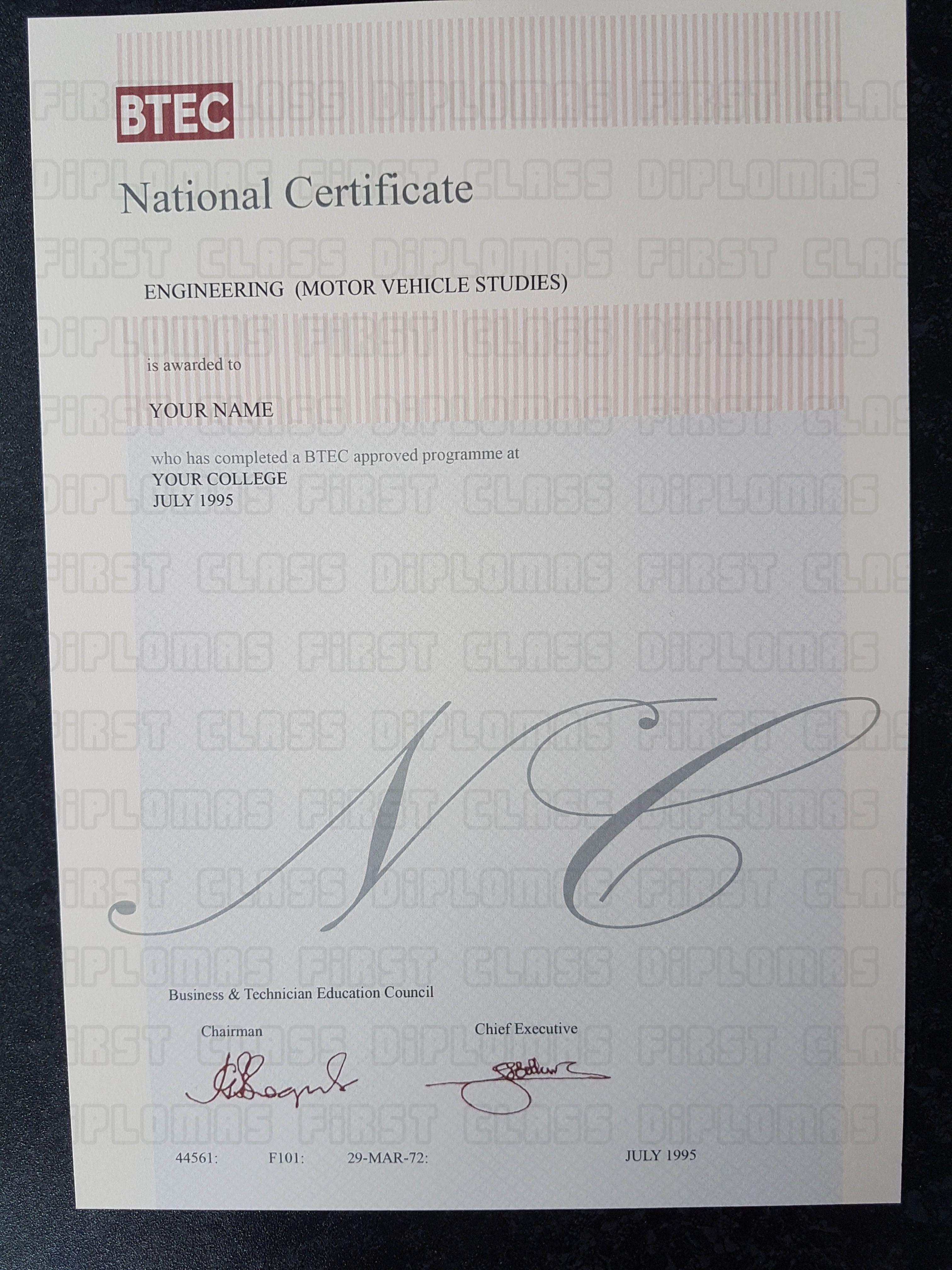 18 Best Fakereplicareplacement Btec Hnd Hnc Nc Oc Certificates