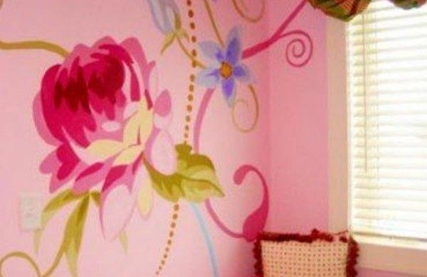 Wandbemalung Kinderzimmer - tolle Interieur ideen Bedrooms and Room