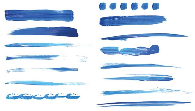 Brushes For Adobe Illustrator Oil And Watercolor Digital Art