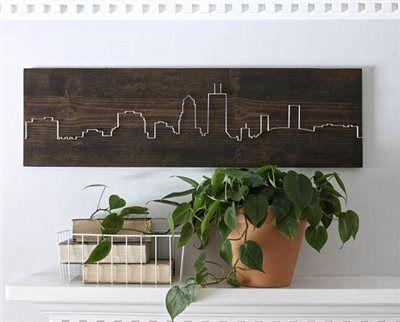 Skyline Living Room Wall Art