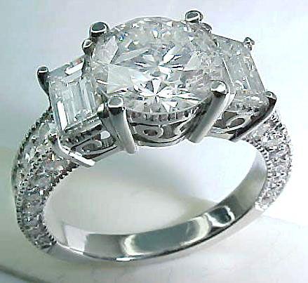 754450d54959 Satılık mükemmel ideal kesim için en iyi alyans Best Diamond Rings