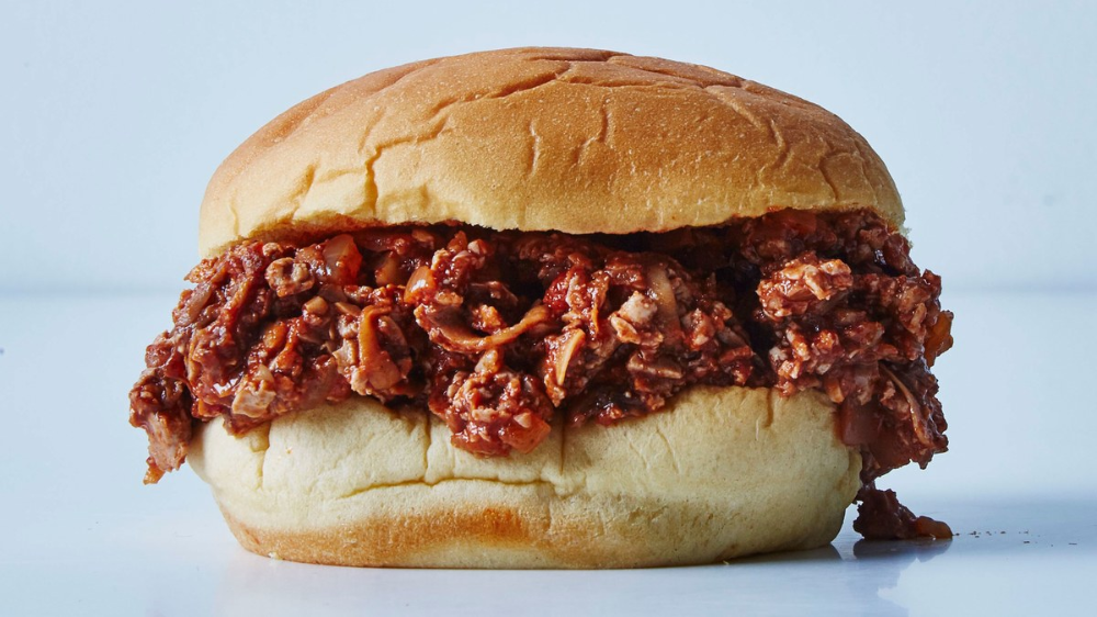 Sloppy Joes made of...tofu! This would also make a killer taco filling. #homemadesloppyjoes