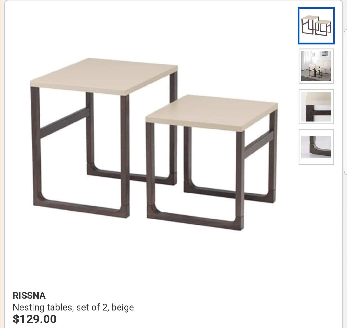 Ikea Nesting Tables