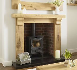 Best Oak Fire Surround Oxford Solid Rustic French Beam Oak 400 x 300