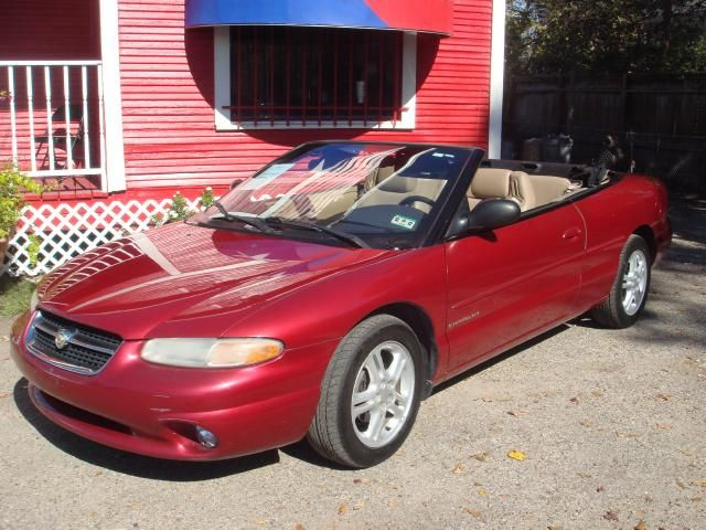 My 1997 Chrysler Sebring Convertible Sebring Convertible Chrysler