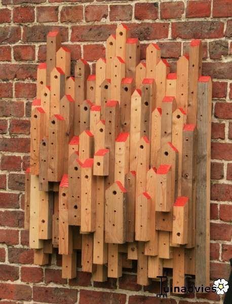 Haben Sie etwas Zeit übrig und noch altes Holz im Schuppen liegen? Wieso bauen ... #holzbauen
