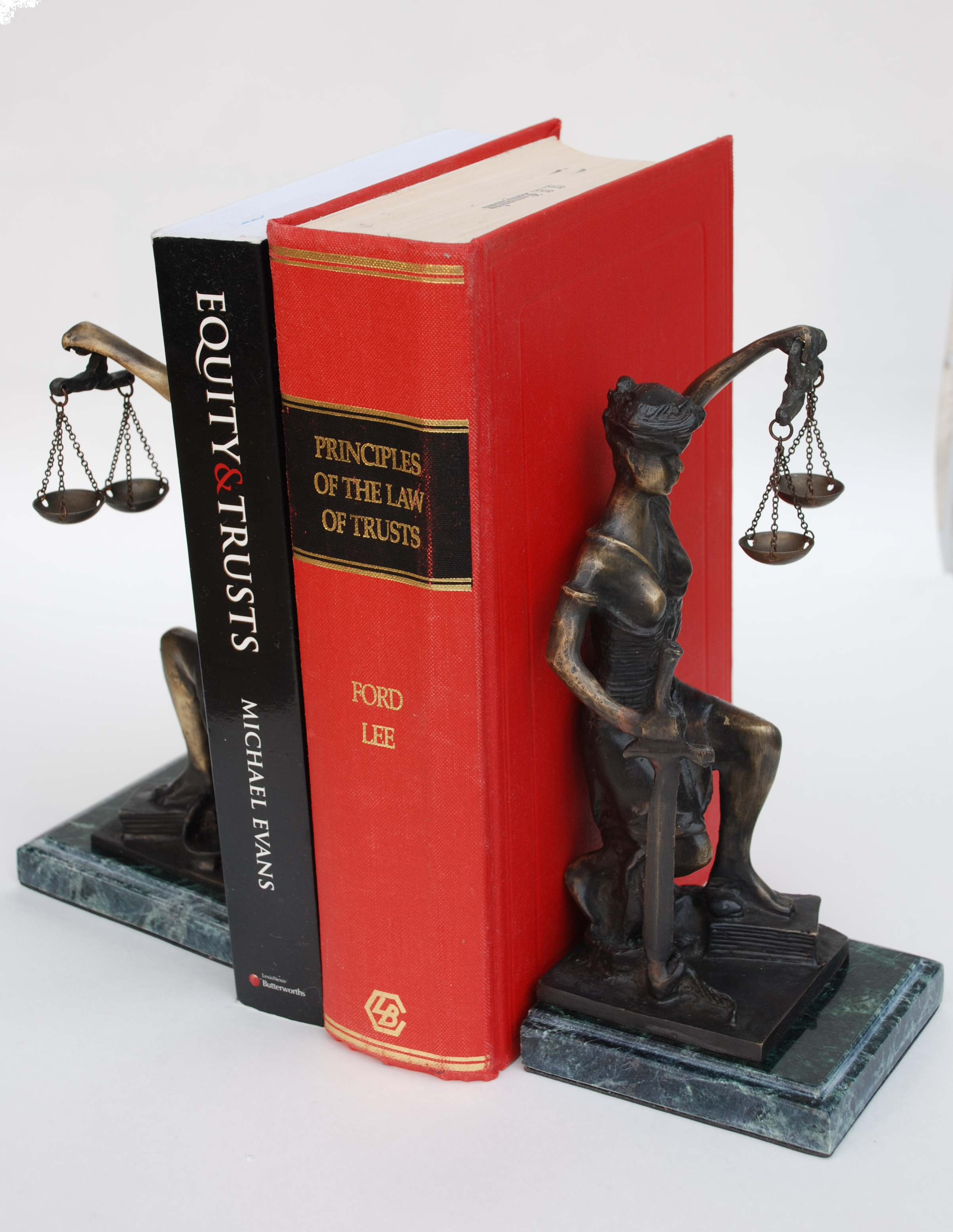Lady Justice Bookends Law Office Decor Lawyer Gifts Lady Justice