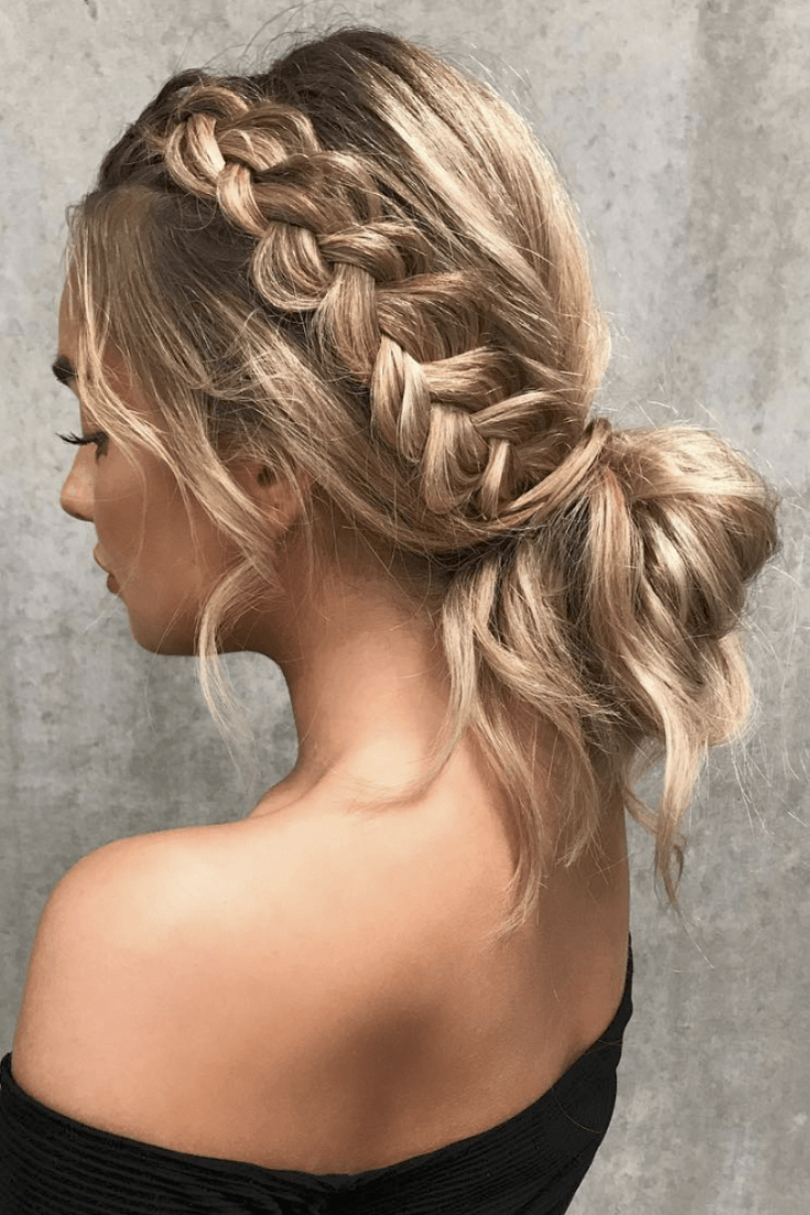 Examples Of Easy Hairstyles Follow Me In Pinterest Gia F Long Hair Styles Grad Hairstyles Hair Looks