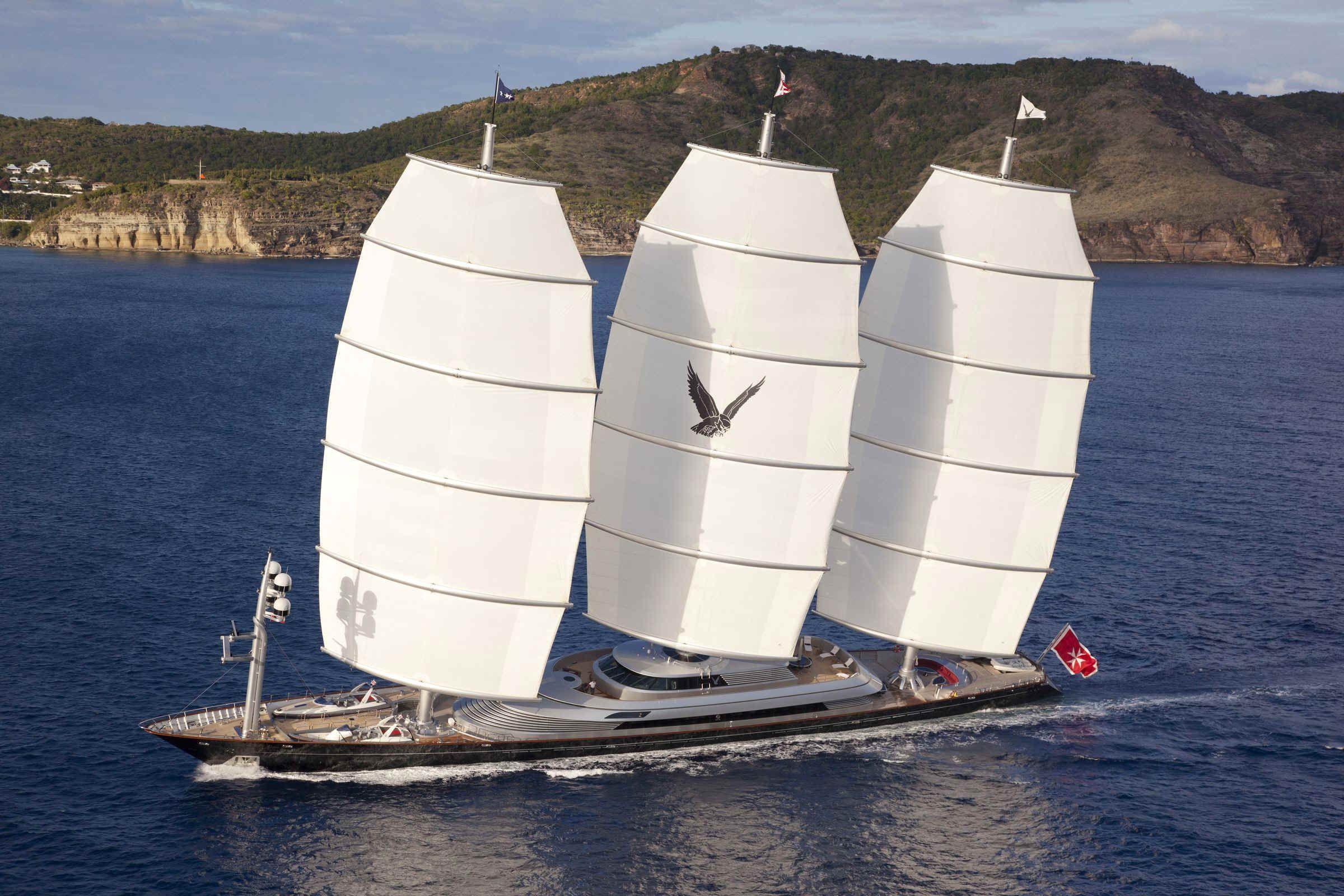 Maltese Falcon sailing yacht Elite Yacht Charters