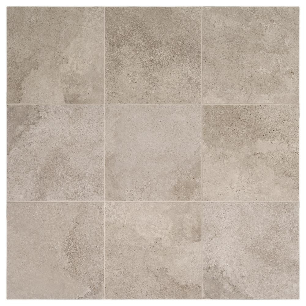 Daltile Hastings Gray 12 In X 12 In Glazed Porcelain Floor And Wall Tile 14 55 Sq Ft Case Sl251212hd1p6 Porcelain Flooring Floor And Wall Tile Daltile