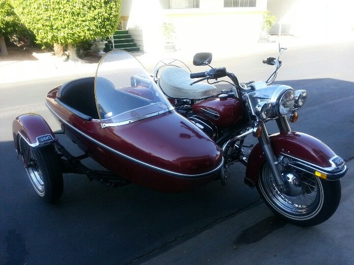 1980 Harly with sidecar