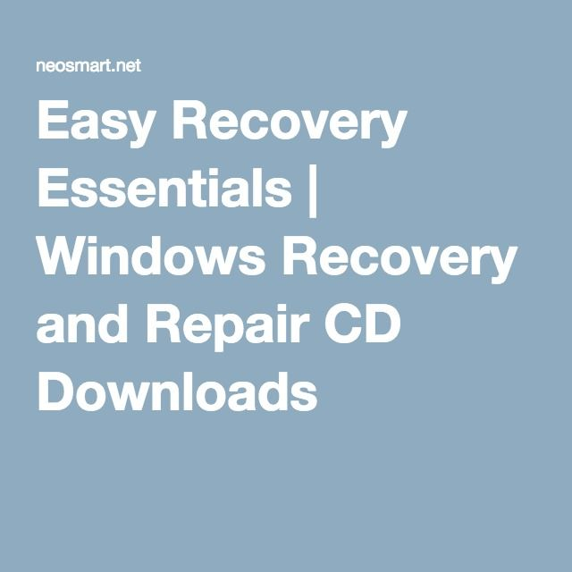 Easy Recovery Essentials Free for Windows