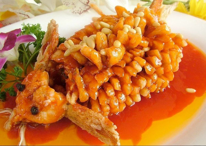 Deep Fried Squirrel Fish By Golden Lake Chinese Restaurant In Austin Tx Order Chinese Food Food Asian Recipes