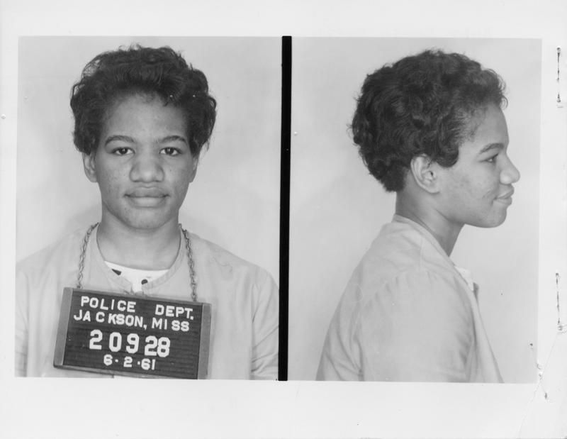 Ruby Doris Smith (Robinson | Mug shots, Robinson, Freedom riders