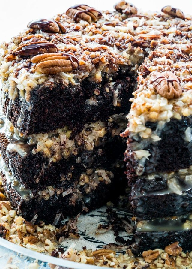 German Chocolate Cake Recipe Homemade german chocolate cake