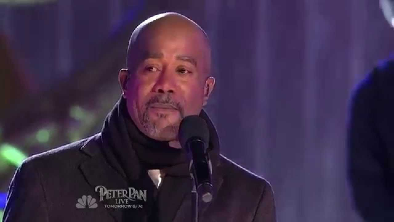 Darius Rucker ~ What God Wants For Christmas ~ Live 2014 @ Christmas ...