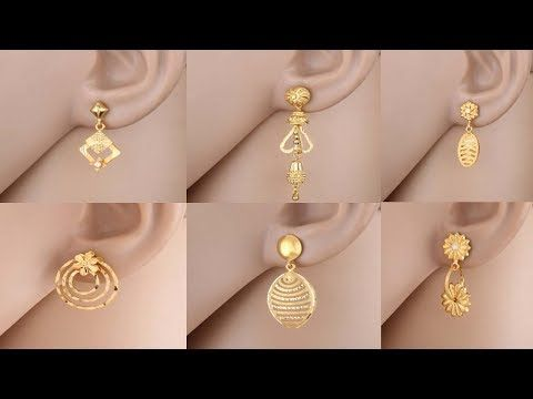 Mens Earrings India Gold