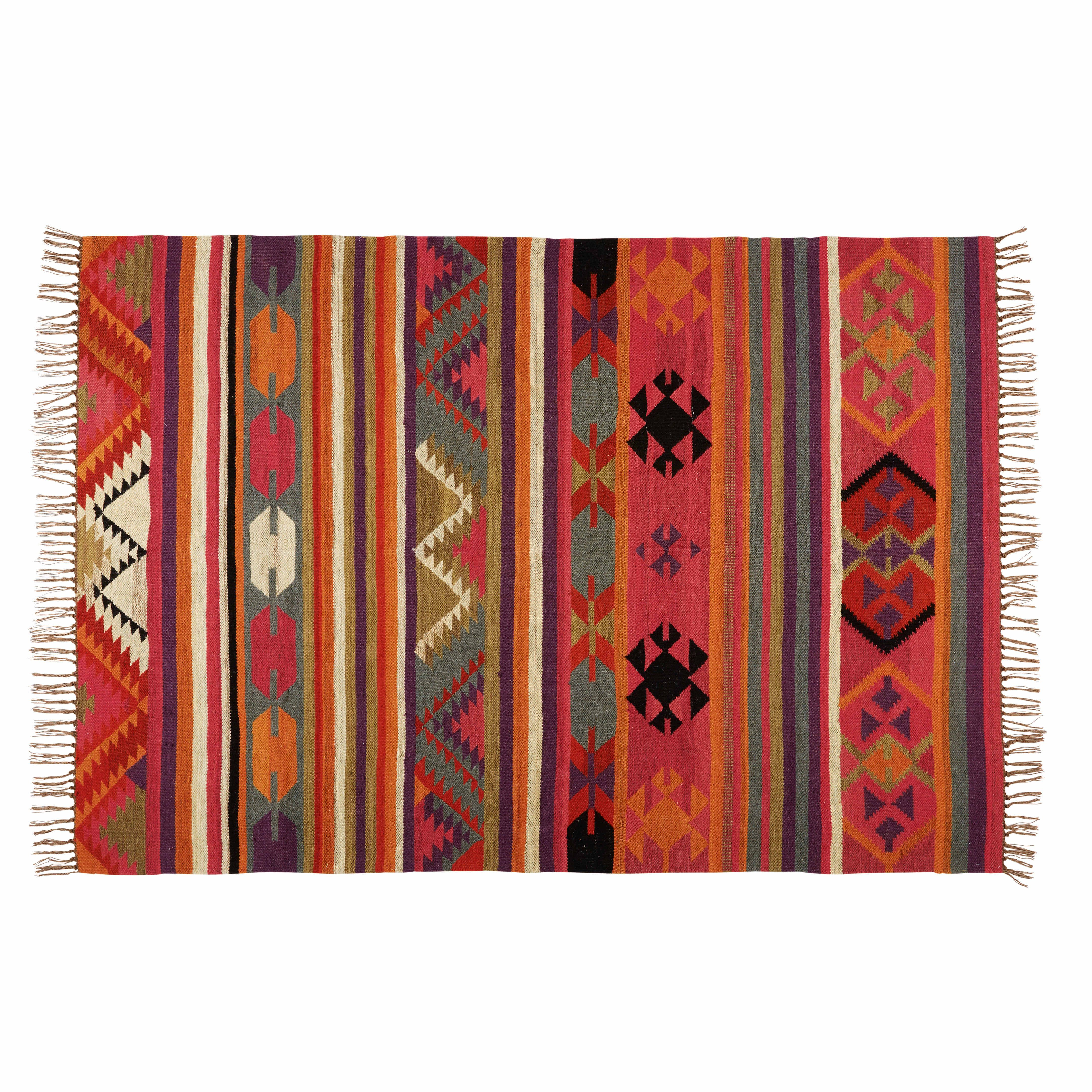 Alfombra de lana multicolor 160x230 cm wishlist - Alfombra lana ikea ...