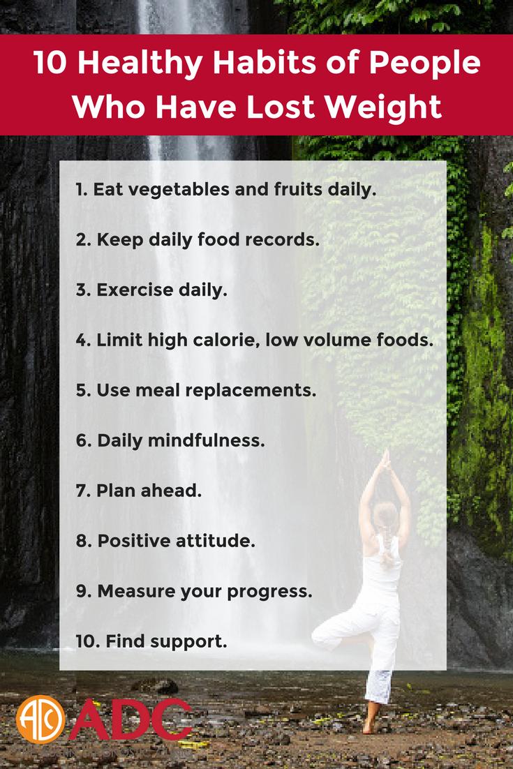 ADC Health Educator Ani Aroian lists good habits of people ...