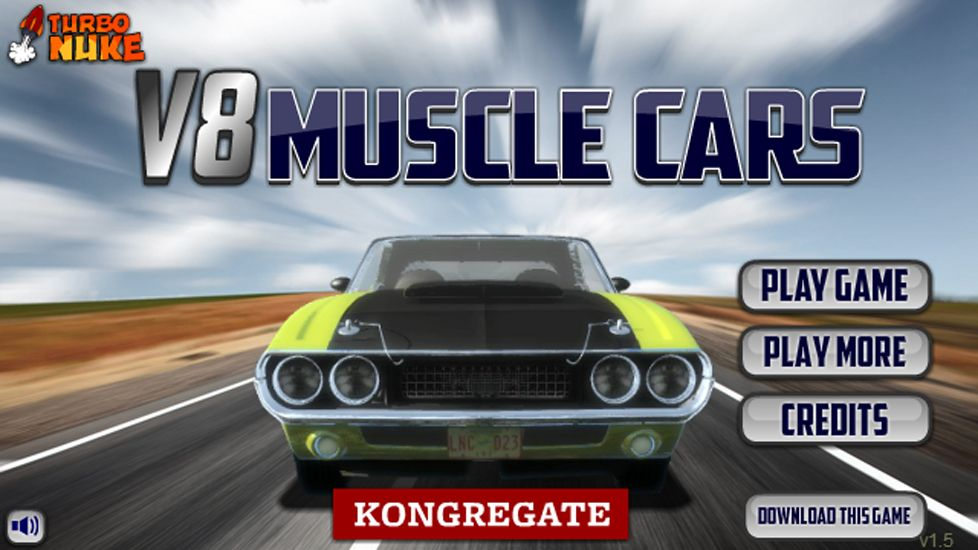 V8 Muscle Cars Game Car Games Fun Online Games Best Muscle Cars