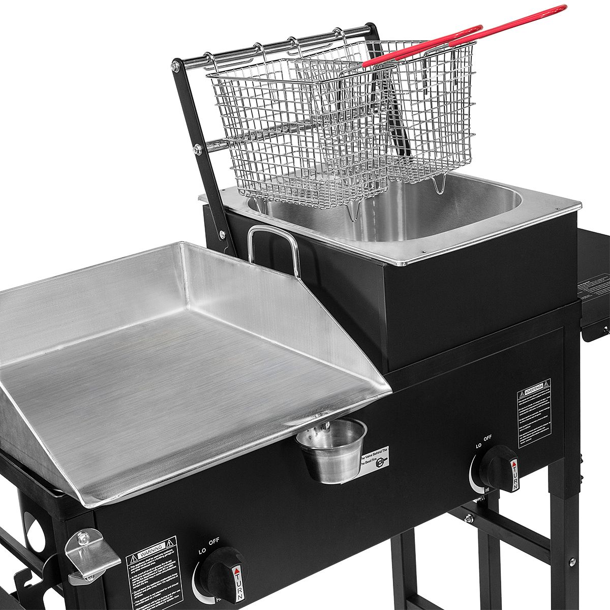 Outdoor Kitchen Grill Griddle Combo
