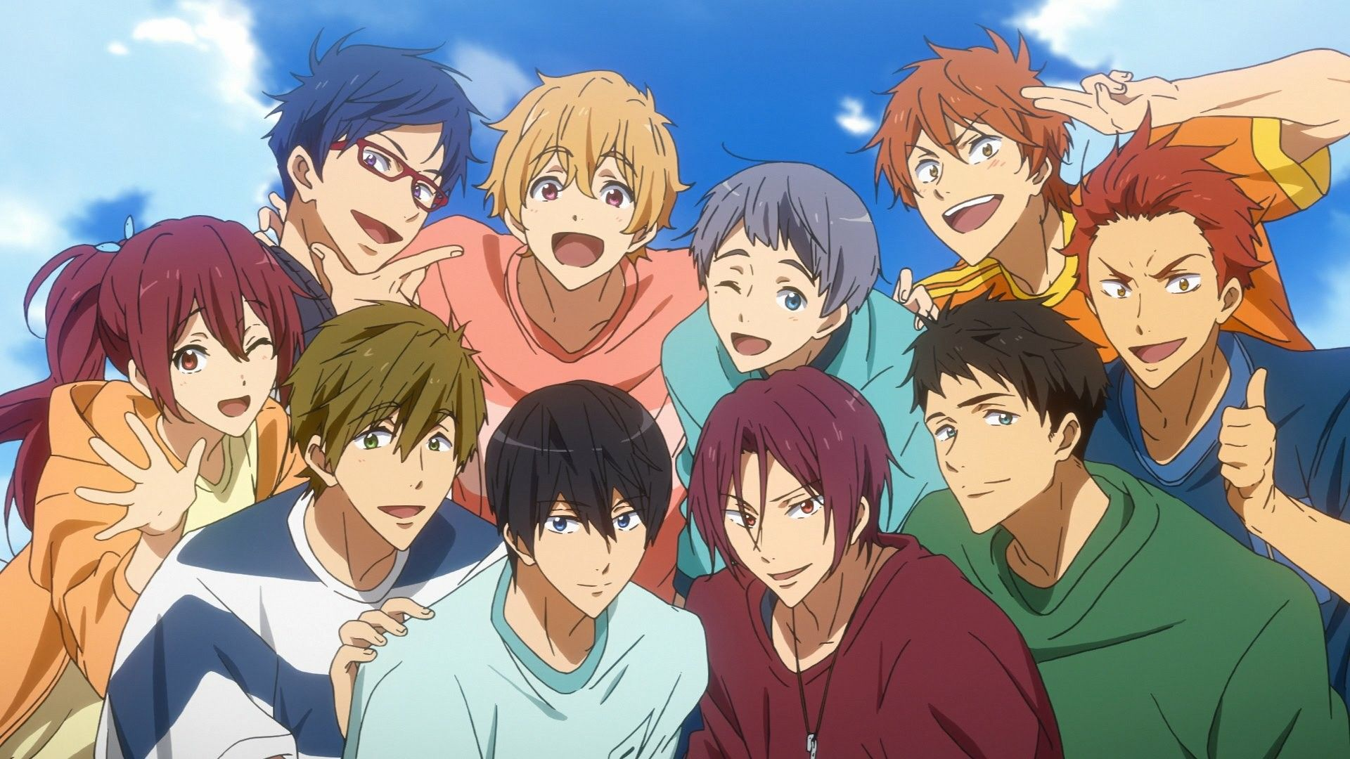 Free! Take your marks Tags Free , Kyoto Animation , Anime