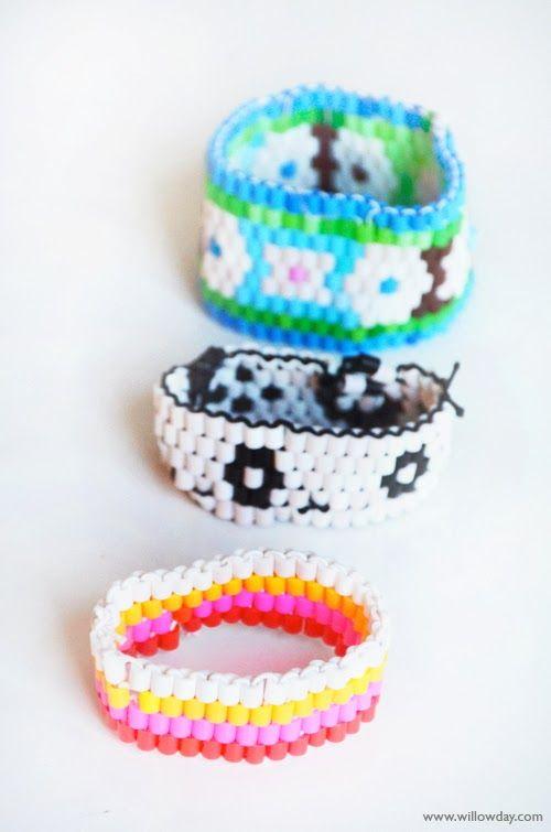 DIY beaded bracelets inspired for Thanksgiving