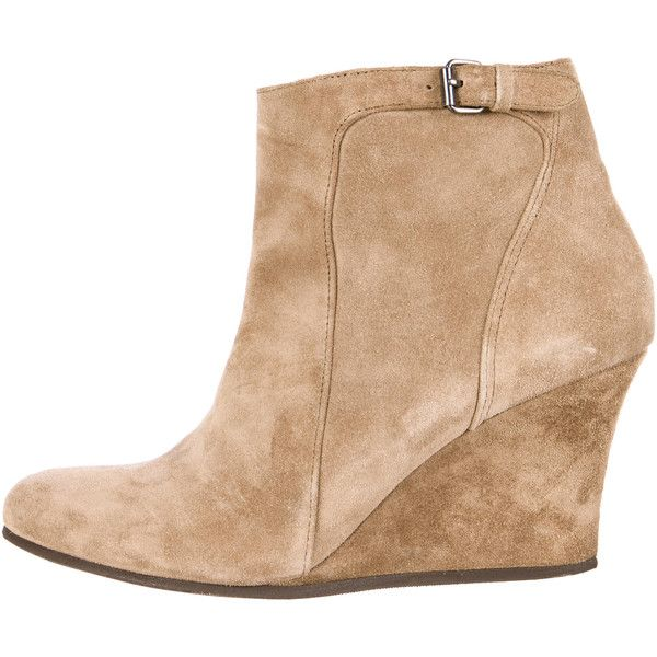 outlet low price fee shipping discount release dates Lanvin Round-Toe Suede Ankle Boots sale 2014 buy cheap exclusive cheap sale with mastercard NKP0Q