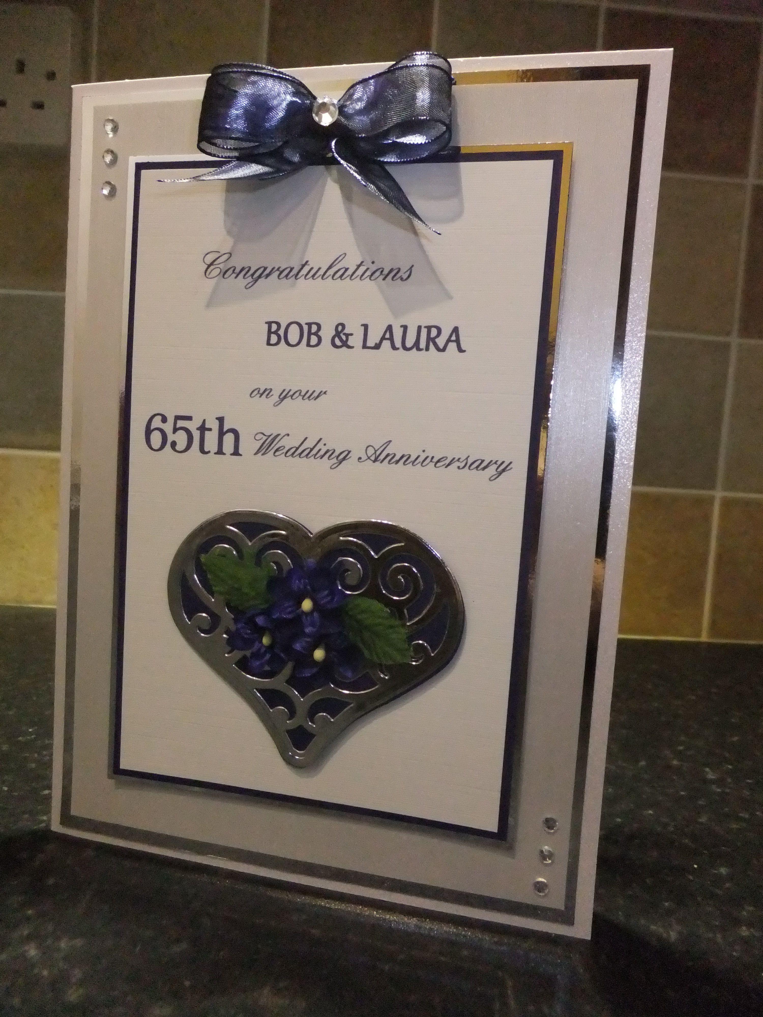 65th Wedding Anniversary 65th wedding anniversary