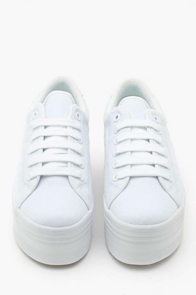 4fd70fca1cb Zomg Platform Sneaker - White - Back In Stock
