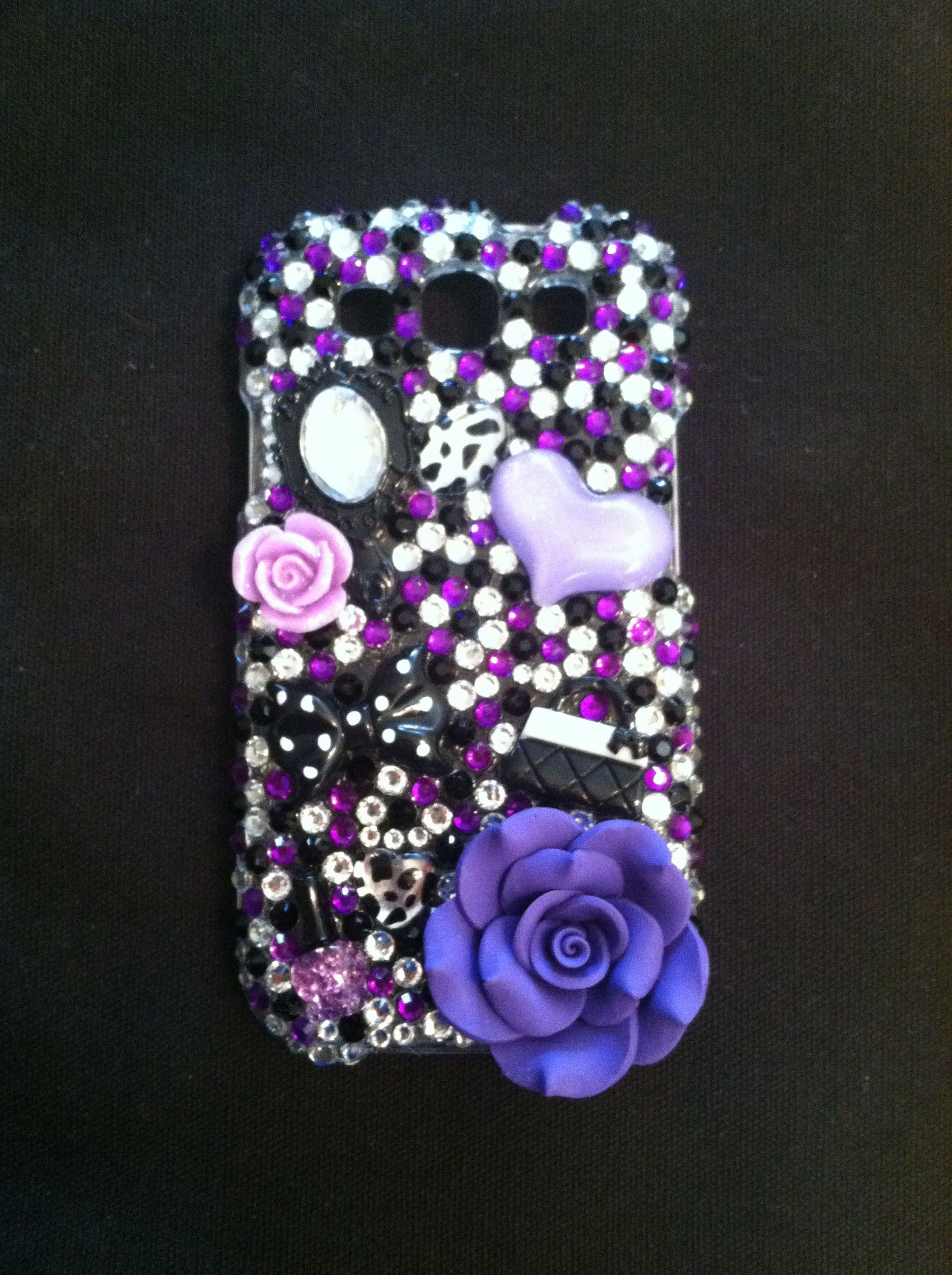 Custom made cell phone case by rachel jackson