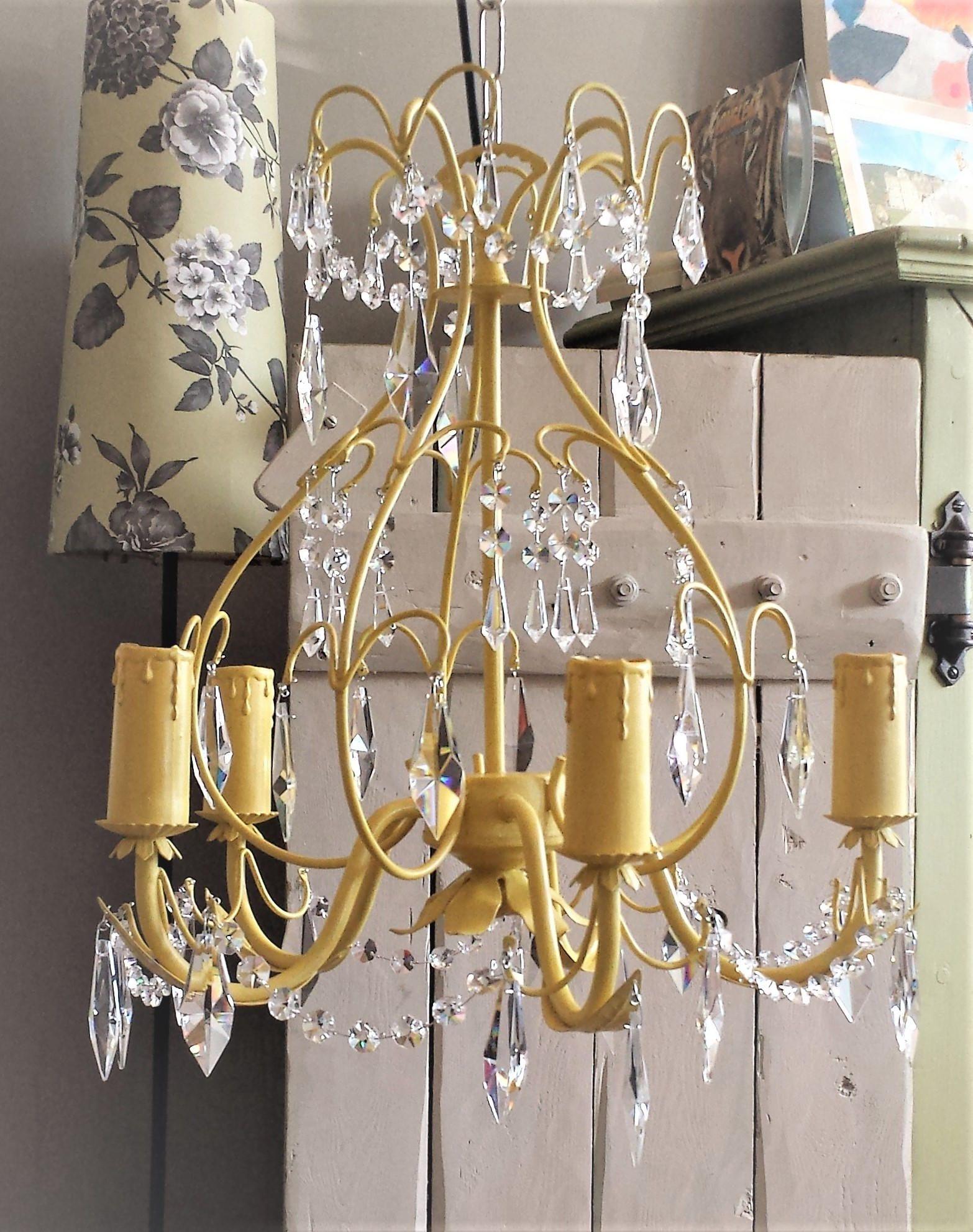 124d2b1f03 Crystal chandelier lighting, vintage crystal pendant lighting ...