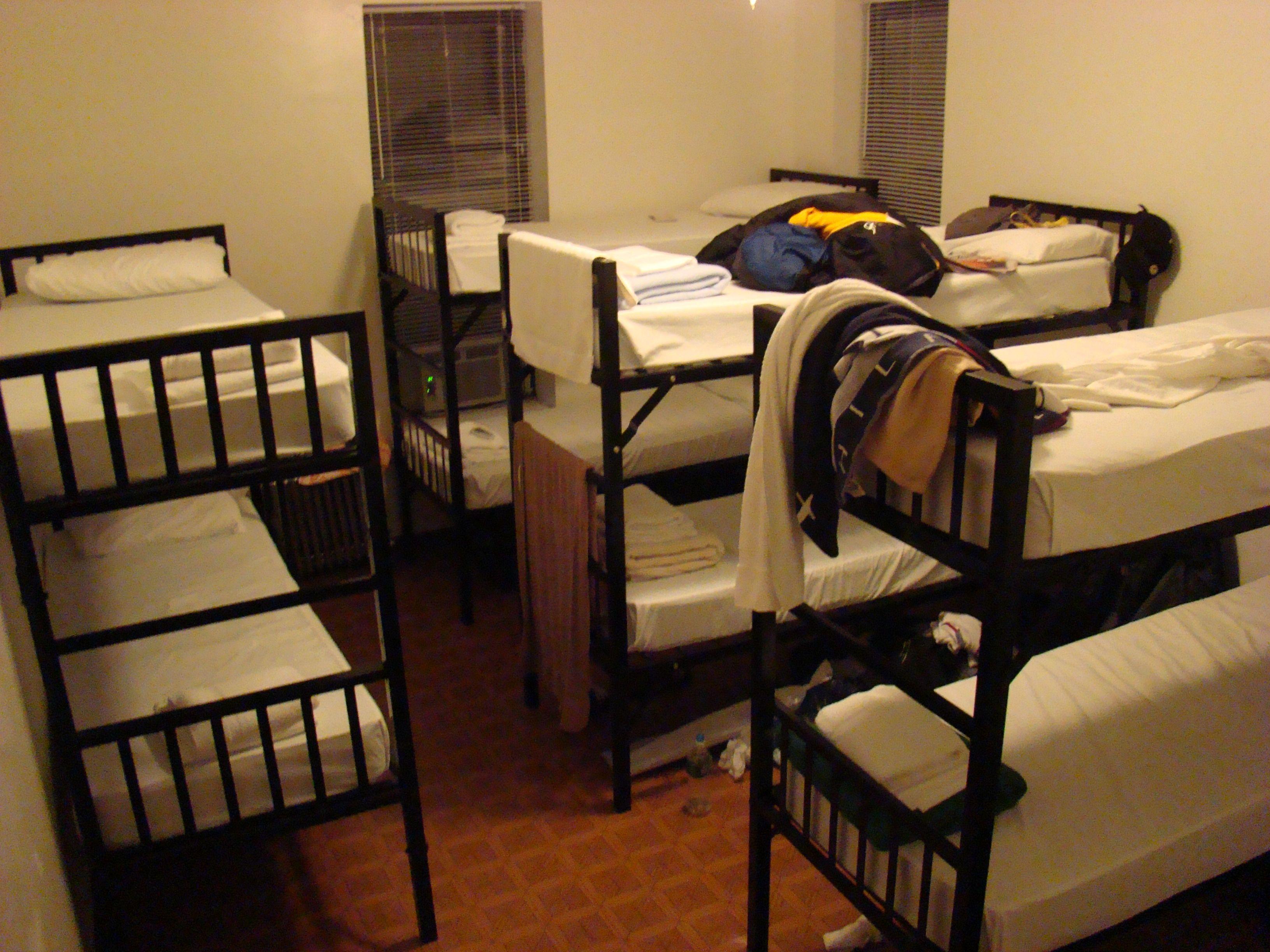New York - Broadway Hostel - Ein Mehrbettzimmer