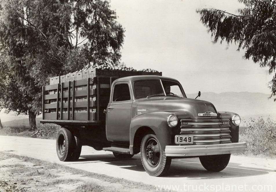 Chevrolet - Series 3000 / 4000 / 6000 \'48 (Commercial vehicles ...