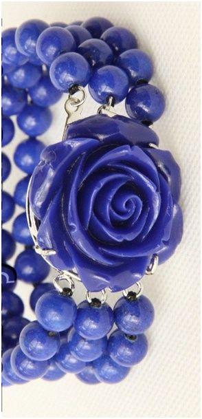 Náramek modrý lapis lazuli 8mm