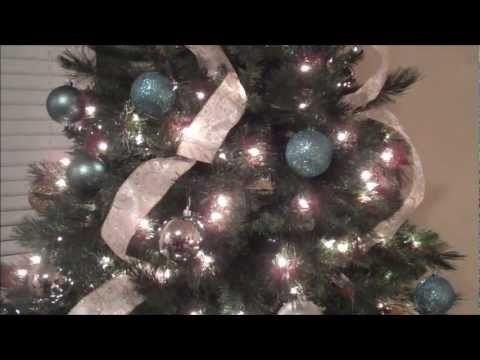 Como Decorar Mi Arbol De Navidad Sencillo Y Bonito